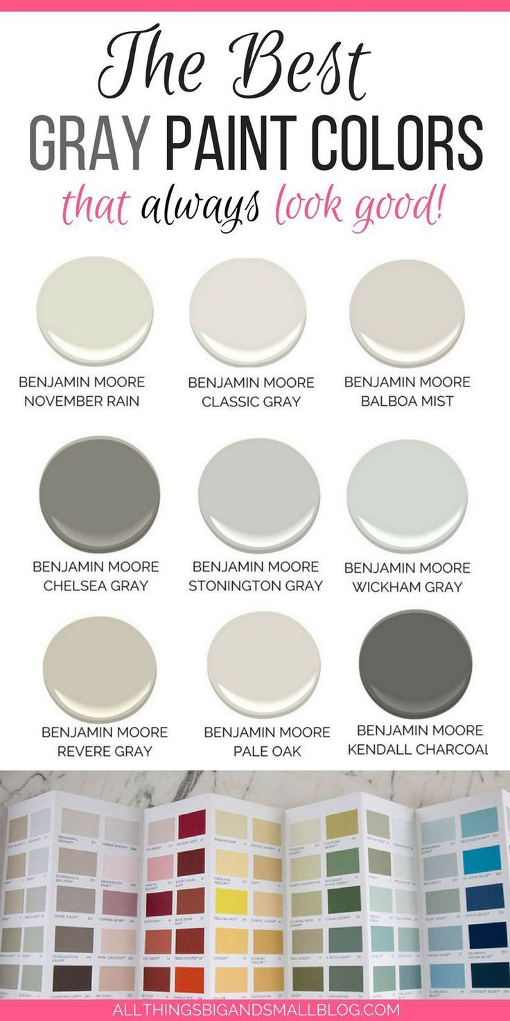 The Best Gray Paint Colors Never Fail Gray Paints August 2020 Popular Grey Paint Colors Best Gray Paint Grey Paint Colors
