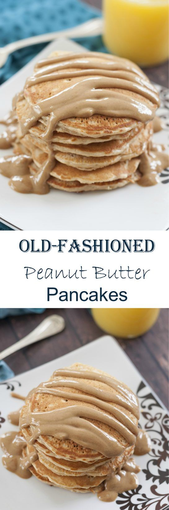 Old-Fashioned Peanut Butter Pancake