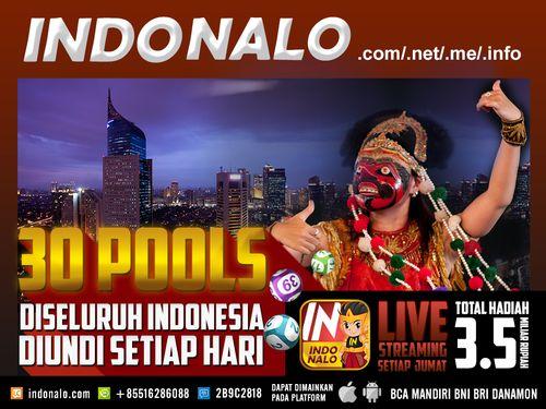 National Lottery IndoNalo : http://www.indonalo.net Agen Togel Online Indonesia Menghadirkan  Togel atau Pools 30 Kota Di Indonesia Pertama dan Satu-  Satunya di Indonesia DIUNDI SETIAP HARI http://goo.gl/qLSlS0  Main Live Streaming Setiap Hari Jumat,  Total Hadiah 3.5 Miliar Rupiah ( 1st @ Rp.1M , 2nd @  Rp.500Jt , 3rd @ Rp.250Jt ) http://goo.gl/qLSlS0  Semua Jadwal dan Hasil keluaran akan mengikuti Waktu  Indonesia Barat (WIB)  Diskon yang diberikan http://www.indonalo.net sangat berbeda…