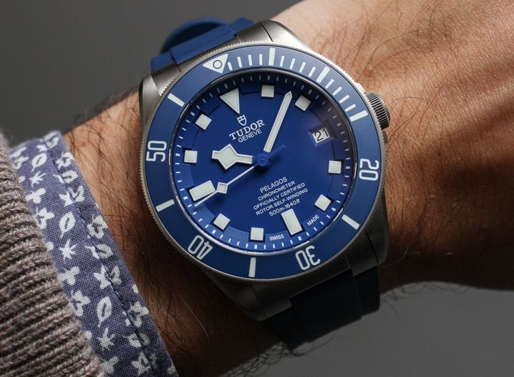 Tudor Pelagos 25600TN Black, 25600TB Blue Watches In-House Made MT5612 Movement Hands-On