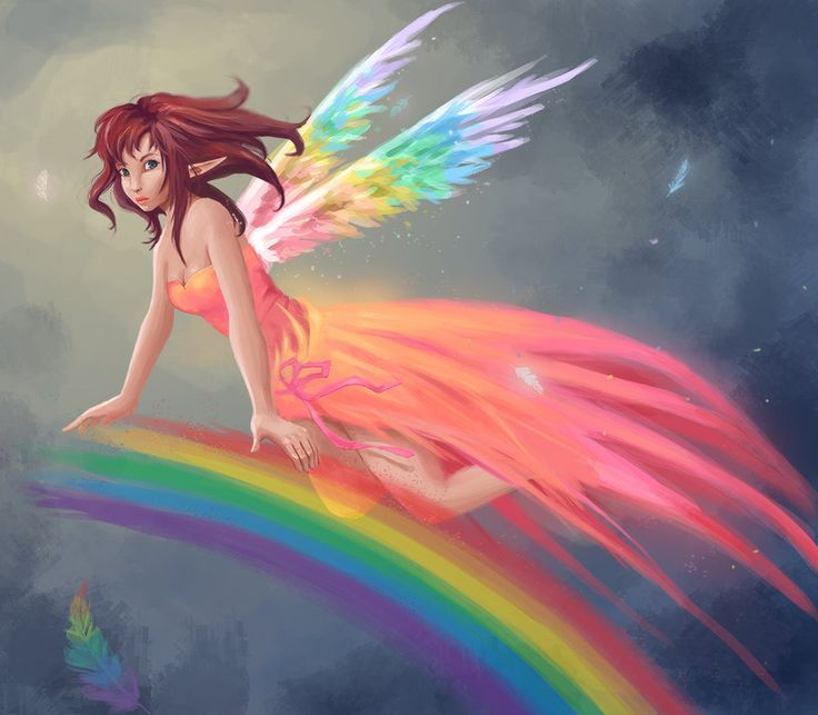 Somewhere over the rainbow.. :) by GummyInABox on DeviantArt
