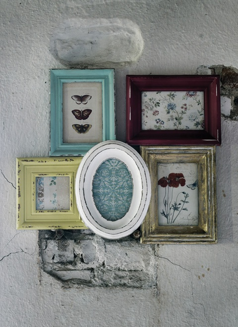 """Antiquee"" frames already put together from Nordal"