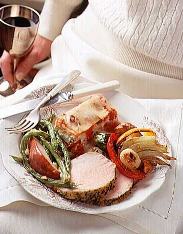 Herb-Crusted Boneless Pork Roast