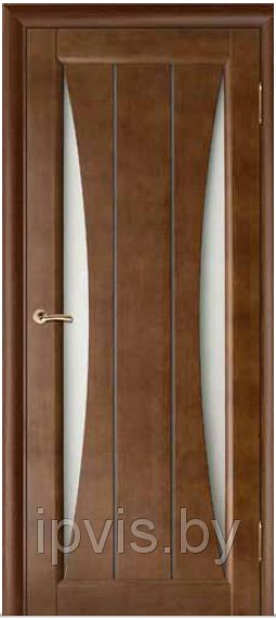 Двери межкомнатные Вега-3 темный орех (Вилейка) в г. Гомель. Отзывы. Цена. Купить. Фото. Характеристики.