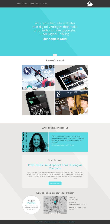 Mud Digital Agency - Website