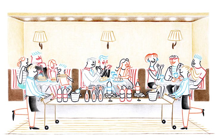 Federica Del Proposto / I LOVE DRAWING FOR / THE WALL STREET JOURNAL OD