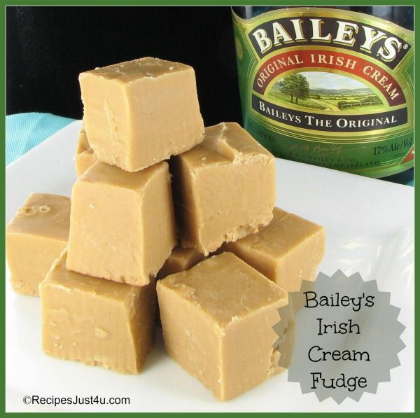 Bailey's Irish Coffee & Cream Fudge... This is what everyone is getting for Christmas.