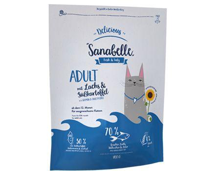 Futtertest Sanabelle Delicious Adult Lachs &...