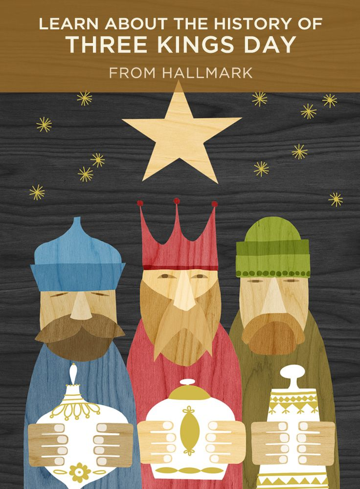 Three Kings Day | Learn about the history and traditions of this holiday (also known as the Epiphany), including when Three Kings Day is celebrated. #Hallmark #HallmarkIdeas
