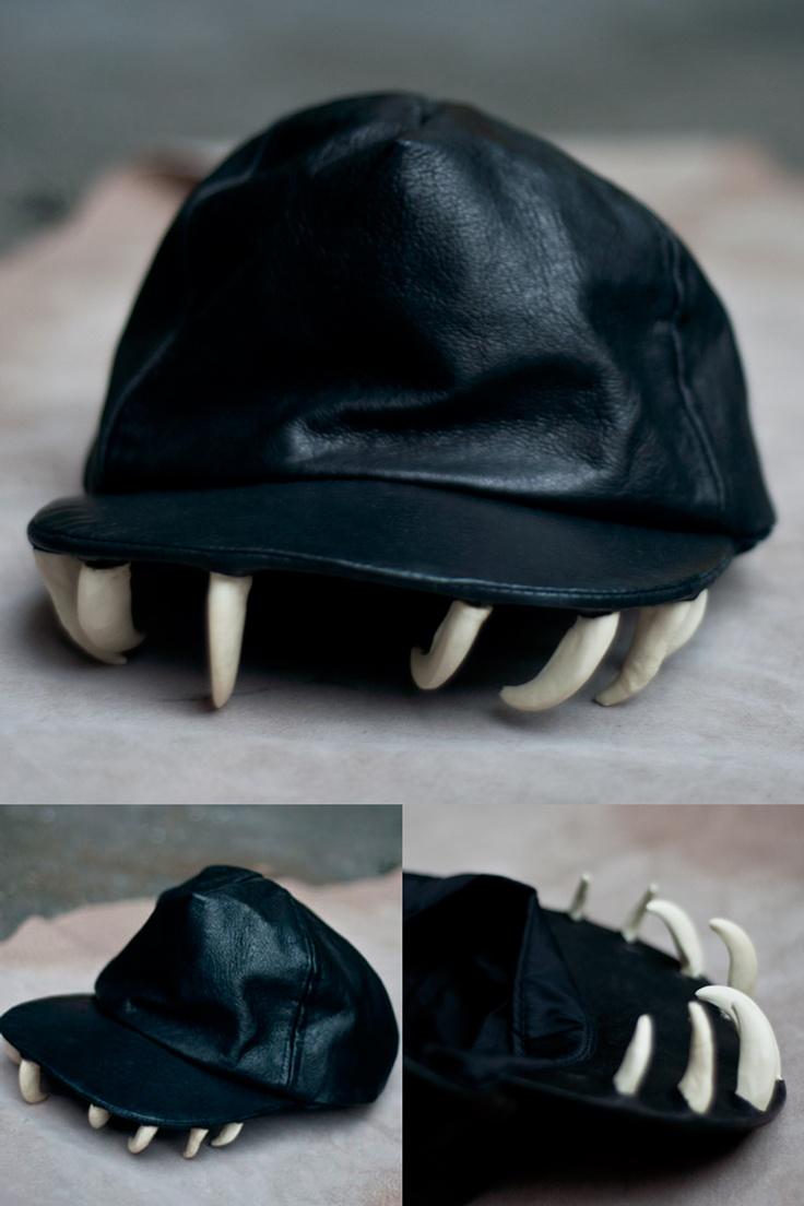"""【OS Accessories】牙齒骨頭帽子 """"Fangs Cap""""-淘寶網"""