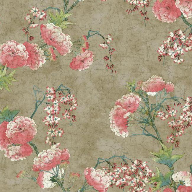 Wallpaper Inn Store - Blossom Branch Gold
