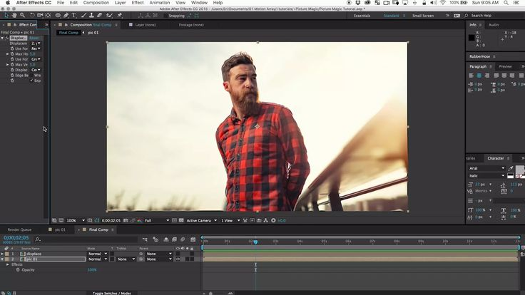 Create Simple 3D Photos In After Effects Tutorial on Vimeo