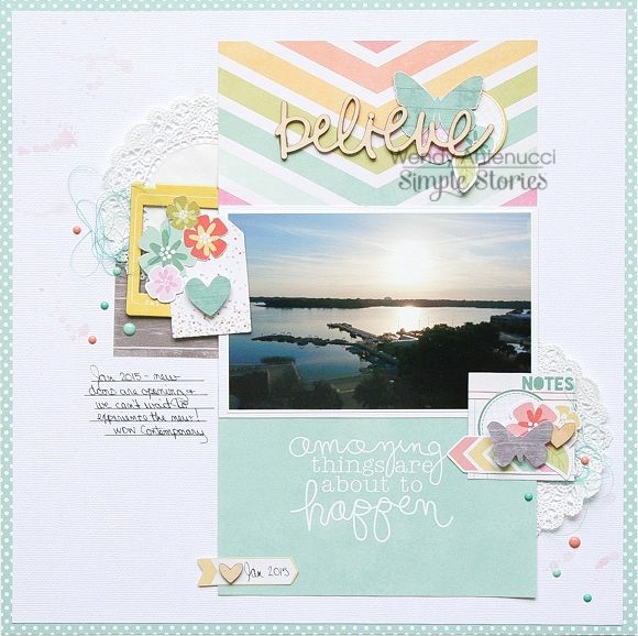 Layout by design team member Wendy Antenucci featuring the Happy Sn@p! Pack