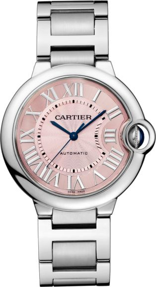 Ballon Bleu de Cartier watch 36 mm, Steel.