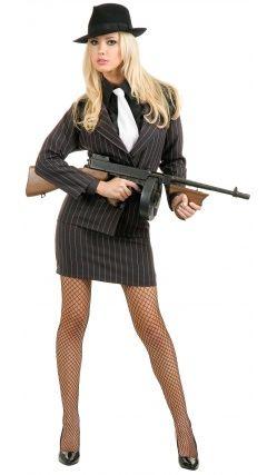 Costume Molly la Gangster Sexy