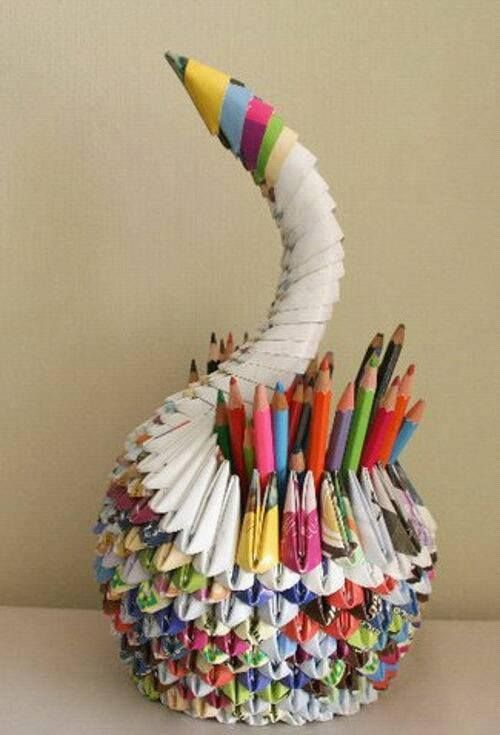25 Awesome Diy Recycled Craft Ideas Crafts Pinterest Paper