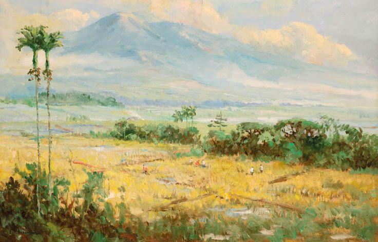 Ernest Dezentje (Jatinegara, 1885 – 1972) - Landscape.