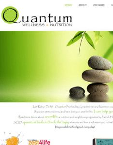 Quantum Wellness And Nutrition Website designed by Web Warriors - Web hosting & Web Design Co  http://quantumwellnessandnutrition.co.za/