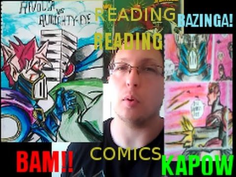Awesome New Comics