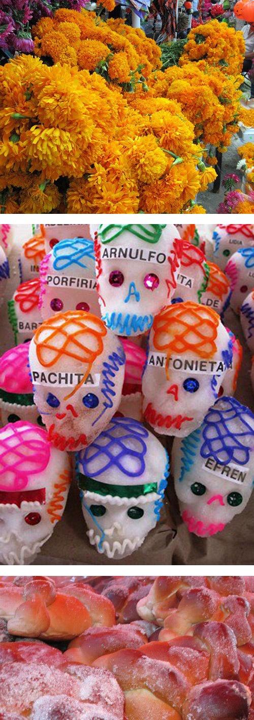 Day of the Dead: The Market / Día de Muertos: El Mercado by @Kristin Busse