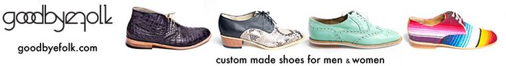 custom hand made shoes by goodbyefolk on Etsy  all custom made shoes available in leather or vegan