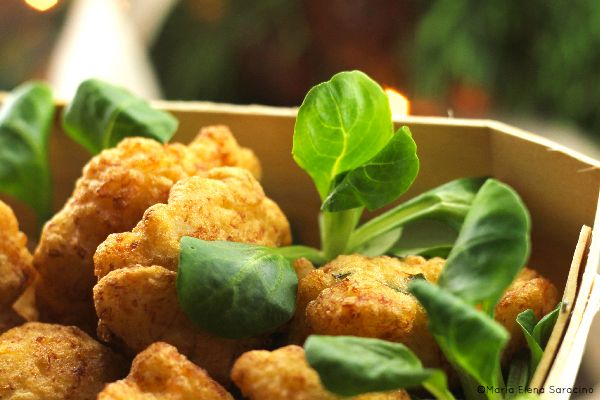 Frittelle di baccalà / salted codfish croquettes