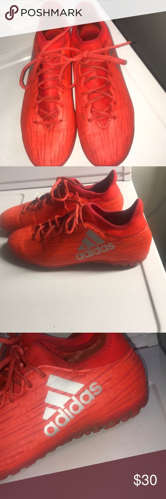 Adidas x 16.3 soccer turf shoes Turf soccer shoes adidas Shoes Athletic Shoes