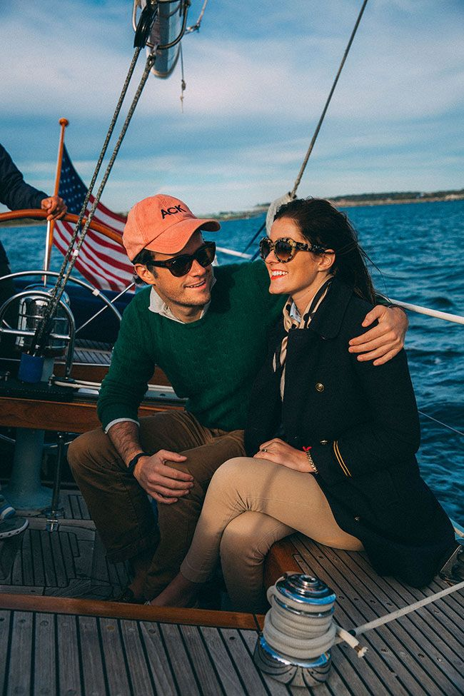 Classy Girls Wear Pearls: Sail Away