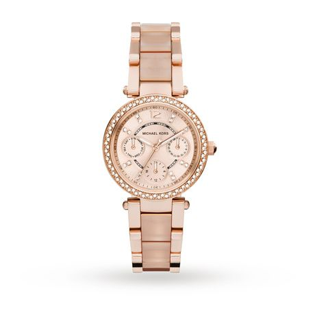Ladies Watches - Michael Kors Parker Blush MK6110 Ladies Watch - MK6110