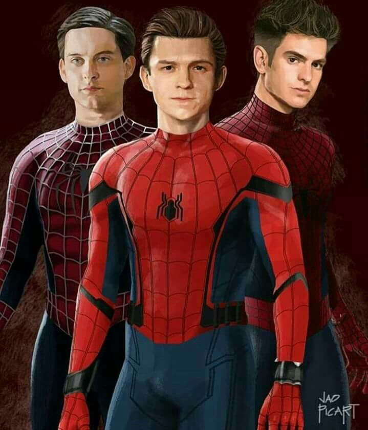 #Toby Maguire #Andrew Garfield #Tom Holland