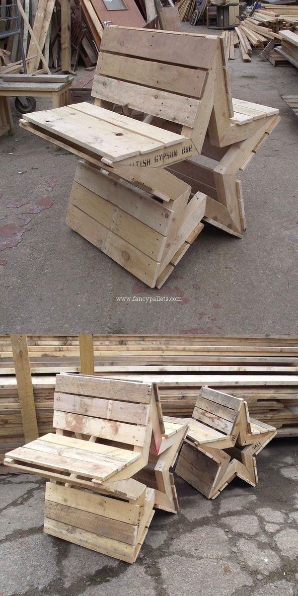Five Star Diy Wooden Pallets Bench Ideas