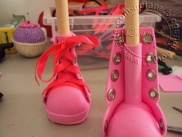 Fofuchas on Pinterest | Manualidades, Zapatos and Navidad