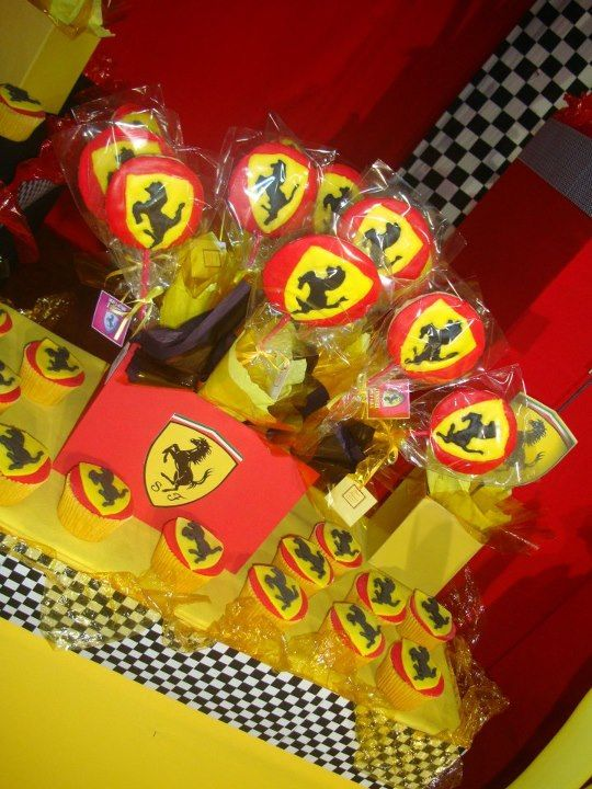 1000 Images About Ferrari Party Theme On Pinterest