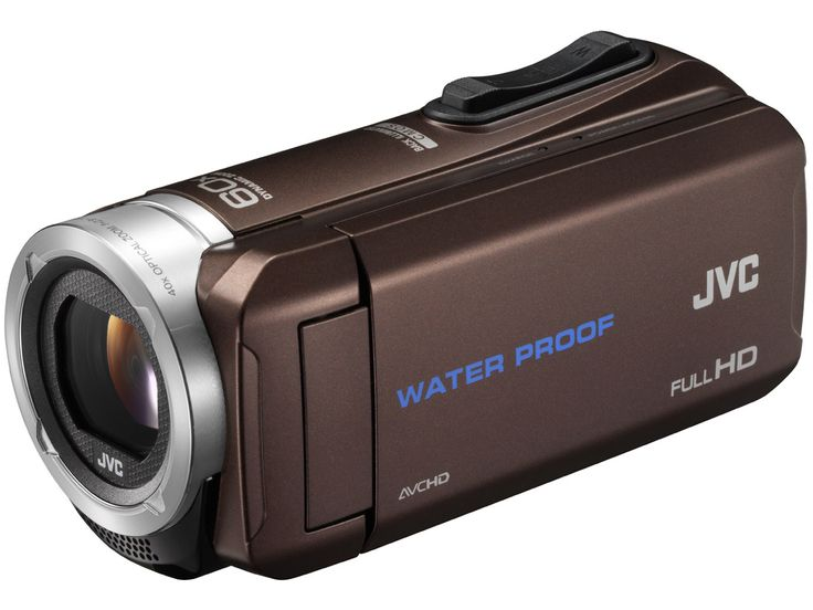 New Water Proof Full HD Video Camera from #JVC -#Everio #GZ-#R70- It was just released today and is already available for purchase on Kakaku.com. ●dust-, water-, freeze-, and shock- resistance ●40x optical zoom lens ●2.5-megapixel BSI CMOS sensor ●1080/60p AVCHD video ●32 GB of internal storage ●great classic design