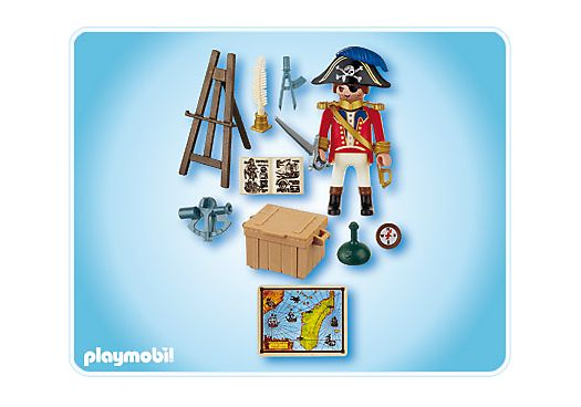 4293 - Capitaine pirate avec carte - PLAYMOBIL® France