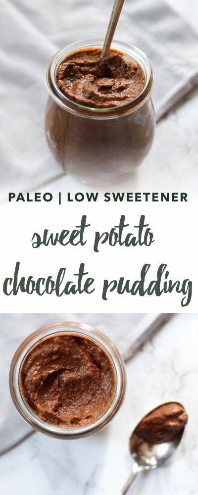 Chocolate Sweet Potato Pudding Recipe