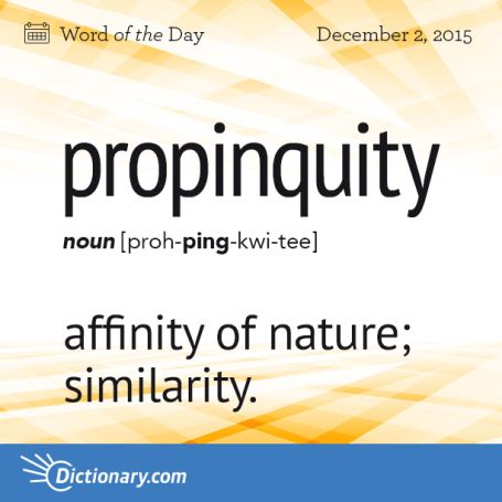propinquity #grammar #nanowrimo #keithrmueller