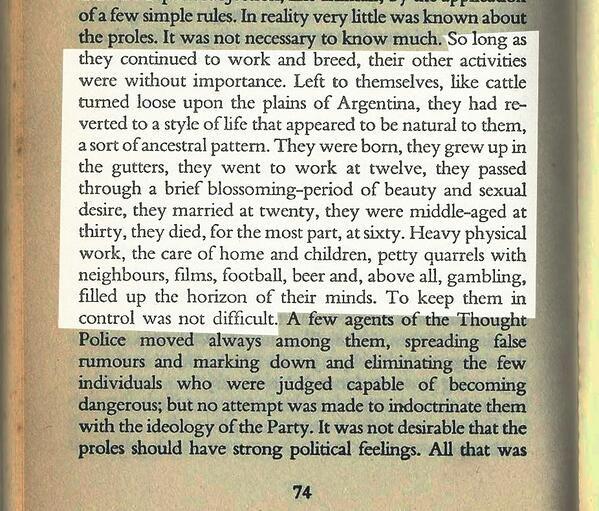 1984 essays theme