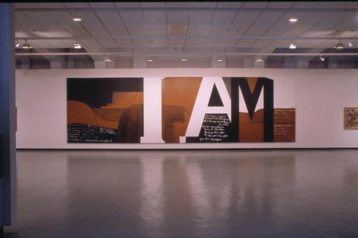 Gate III, Colin McCahon, 1970, VUW.1972.1  @Ruth H. Allen