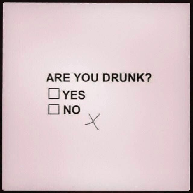 Funny Drunk Multiple Choice Questionnaire