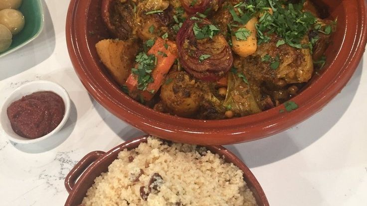 Vegetable tagine for the whole family to enjoy
