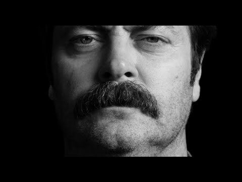 Nick Offerman In Great Mustaches Throughout History