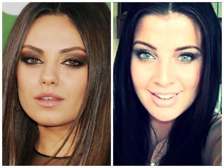 My Mila Kunis inspired makeup video