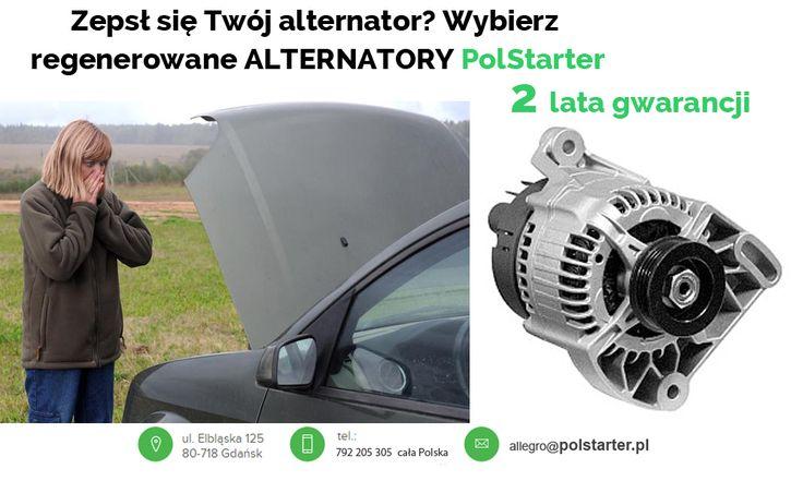 ⚫ Alternator w Twoim aucie przestał działać, lub już świeci się kontrolka ładowania akumulatora? Nie czekaj i wybierz najtańsze i jedyne na rynku alternatory regenerowane z 2 letnią GWARANCJĄ!  ⚫ Odwiedź także naszą stronę internetową i sklep internetowy: ➜ www.polstarter.pl ➜ www.sklep.polstarter.pl  ⚫ KONTAKT: 📲 792 205 305 ✉ allegro@polstarter.pl  #samochód #samochody #częścisamochodowe #auto #mechanik #serwisamochodowy #rozruszniki #alternatory #oferta #polskafirma #części