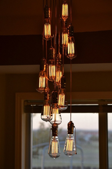 Light Bulb Chandelier For The Home Pinterest Lights Lighting And Decorative