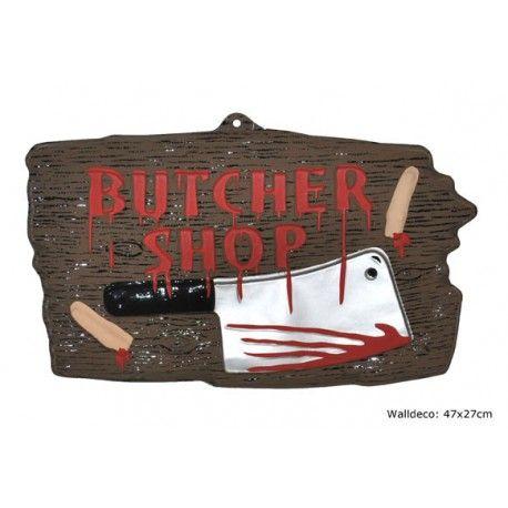 Butcher Shop skilt