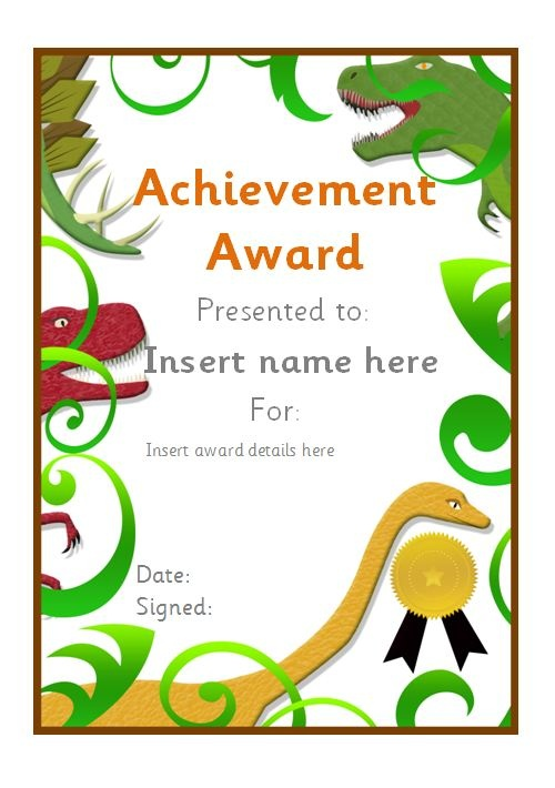16 best Editable School Certificates images on Pinterest - certificate of achievement for kids