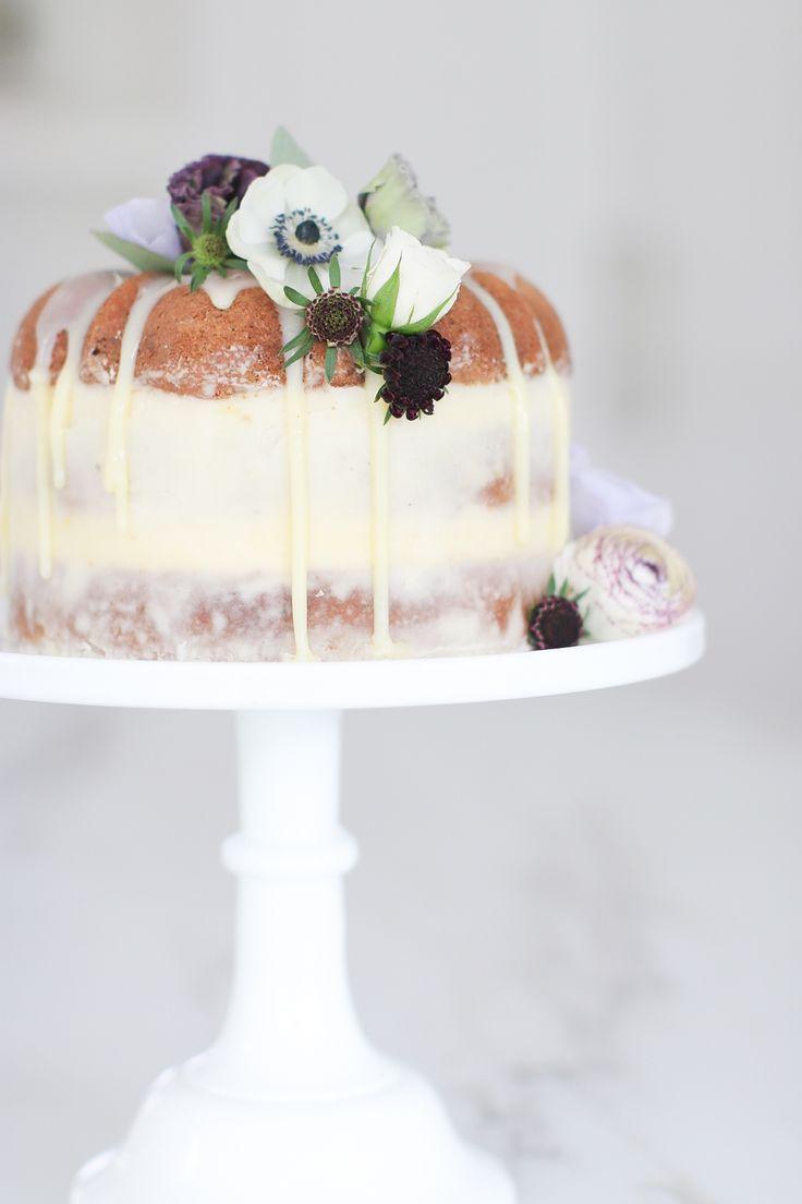 - Earl Grey Bundt Naked Cake - round tins and a similar size bund tin makes a beaty of a cake