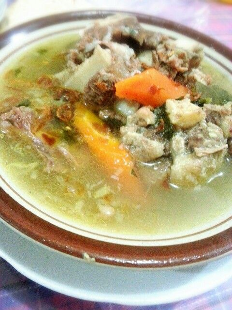 Sup Buntut Sapi Indonesia