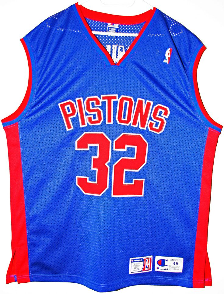 Champion NBA Basketball Detroit Pistons #32 Richard Hamilton Authentic Trikot/Jersey Size 48 - Größe XL - 139,90€ #nba #basketball #trikot #jersey #ebay #sport #fitness #fanartikel #merchandise #usa #america #fashion #mode #collectable #memorabilia #allbigeverything